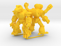 MiniCreatures: Atomic Allosaur Vs Fetid Fly in Yellow Strong & Flexible Polished