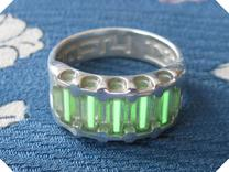 US10 Ring IX: Tritium in Polished Silver