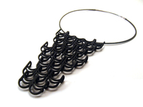 Deco Drop Pendant in Black Strong & Flexible
