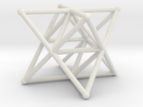Rod Merkaba Supports 4cm in White Strong & Flexible