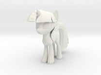 Twilight Sparkle in White Strong & Flexible