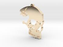 The Skull Rules in 14K Gold