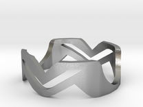Ring MV in Raw Silver