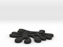 amoeba earring in Black Strong & Flexible