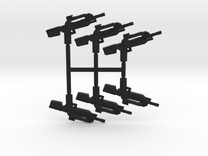 Burst Rifle Pack in Black Strong & Flexible
