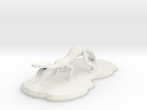 Crackus in White Strong & Flexible