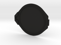 77mm Flip Lens Cap - Cap in Black Strong & Flexible