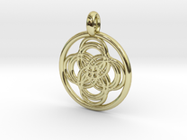Thebe pendant in 18K Gold Plated