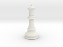 Queen (Chess) in White Strong & Flexible