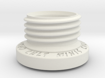 Sculpting Platforms-Small Sculpting Plug Sample in White Strong & Flexible