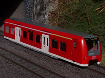 BR 426 1:220 Spur Z in White Strong & Flexible