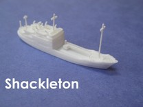 RRS Shackleton (1:1200) in White Strong & Flexible