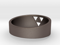 "Triforce Ring - 7""3/4 in Stainless Steel"
