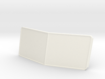 Pete style Windshield in White Strong & Flexible Polished