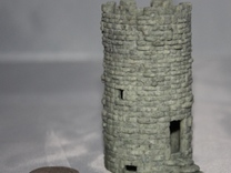 Tower - textured in Full Color Sandstone