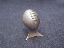 Fantasy Football League Trophy in Stainless Steel