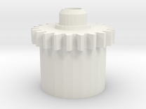 DS Motor Gear in White Strong & Flexible