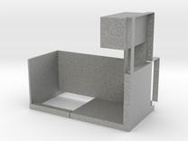 Single Workstation in Metallic Plastic