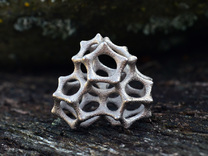VORONOI CLUSTER II  (Pendant) in Polished Nickel Steel
