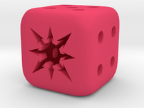 small chaos dice in Pink Strong & Flexible Polished