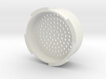 Crema Attachment for Aeropress in White Strong & Flexible
