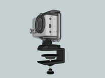 Gopro G Clamp in White Strong & Flexible