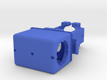 Manifold-pump Clamp For Printing Square MONO Rubec in Blue Strong & Flexible Polished