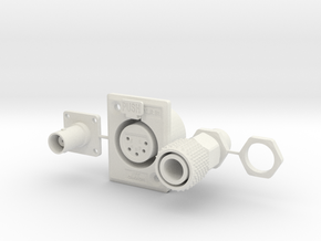 Jetpack Greeblies in White Natural Versatile Plastic
