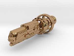 ISN Battleship in Polished Brass