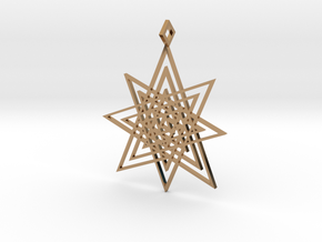 Endless Star in Polished Brass