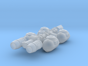 Fuel Tanker in Smooth Fine Detail Plastic