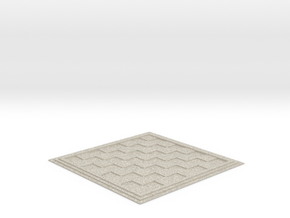 Chess/Checker Board in Natural Sandstone