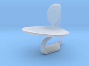 Chair No. 46 in Smooth Fine Detail Plastic