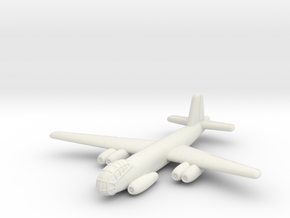 Junkers Ju-287 V1 German Bomber- 1/285 (Qty 1) in White Natural Versatile Plastic
