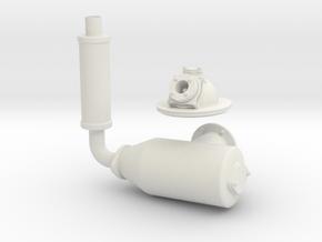 Kromhout Motor M0 1/6 Teil 2 in White Natural Versatile Plastic