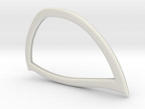 Tasm2 Lenses in White Natural Versatile Plastic