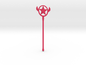 Cardcaptor [Star Form Wand] in Pink Processed Versatile Plastic