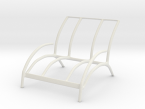 Chair No. 43 in White Natural Versatile Plastic