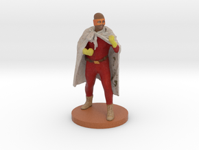 "Darren as ""Blankman"" - 6"" Figurine in Full Color Sandstone"