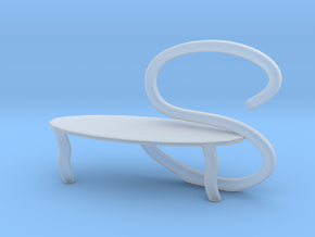 Chair No. 38 in Smoothest Fine Detail Plastic