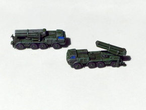 BM 27 Uragan MRLS 1/200 in Smooth Fine Detail Plastic
