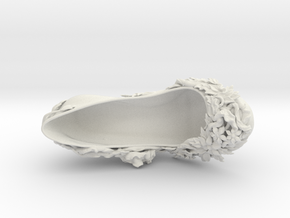 Flora Shoes Right size EU 37  in White Natural Versatile Plastic