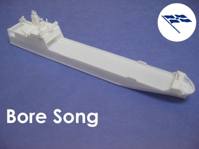 MV Bore Song (1:1200) in White Natural Versatile Plastic