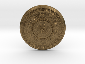 elephant coaster  in Natural Bronze