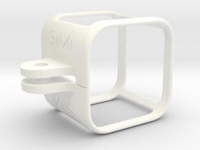Gopro Hero 4 Session SíMí Case in White Processed Versatile Plastic