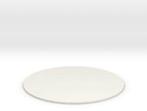 Gargantuan Creature Marker in White Natural Versatile Plastic