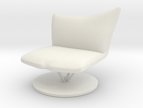 Chair No. 27 in White Natural Versatile Plastic