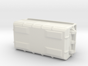 1:20 Cargo box 5 in White Natural Versatile Plastic