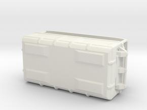 1:20 Cargo box 5 in White Strong & Flexible
