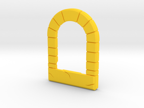 Pinball MM Wizard Stone Arch in Yellow Processed Versatile Plastic